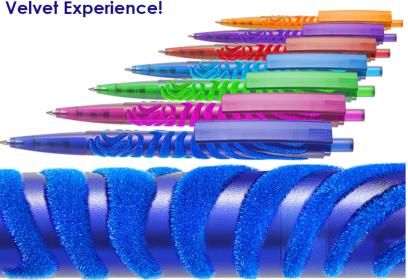 Velvet pens